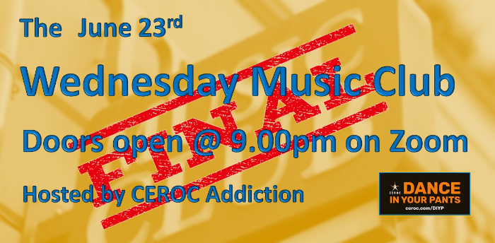 The FINAL Wednesday Music Club, this is it!