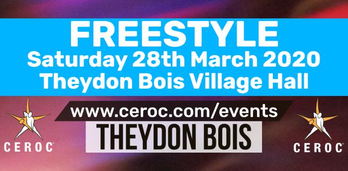 POSTPONED - Theydon Bois Ceroc Freestyle Sat 28 Mar 2020