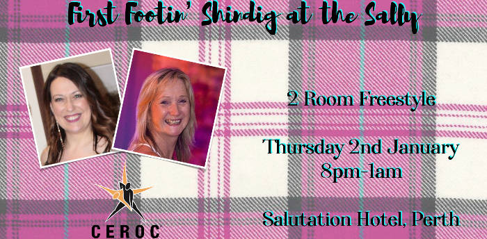 Ceroc Perth: First Footin' Shindig at the Sally
