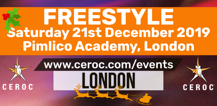 Ceroc Pimlico Christmas Party Freestyle Saturday 21 Dec 2019