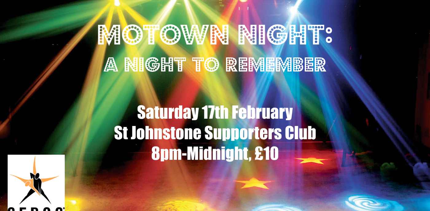 Perth: Motown - A Night To Remember **SOLD OUT**