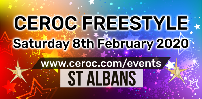 Ceroc St Albans Freestyle Saturday 08 February 2020