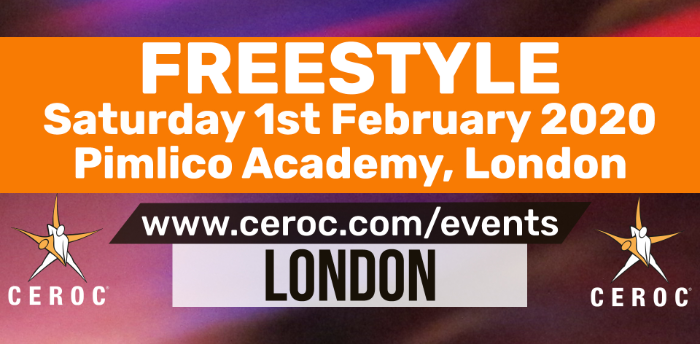 Ceroc Pimlico Party Freestyle Saturday 01 February 2020