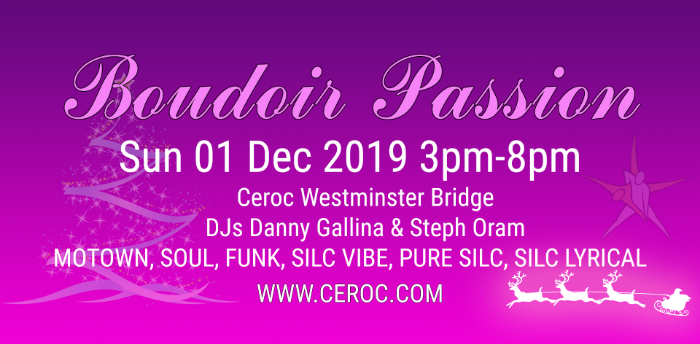 Boudoir Passion @The Bridge December 2019
