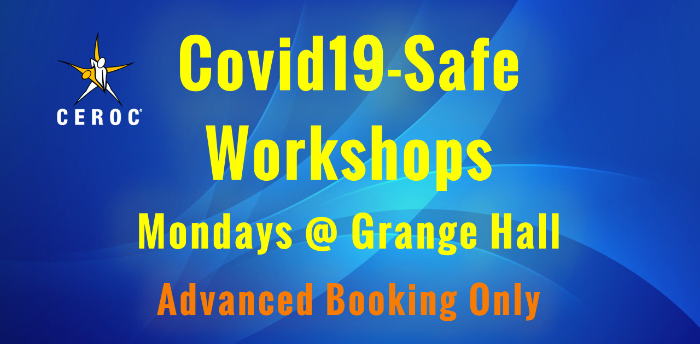 Ceroc Grange Hall Covid-Safe Lessons