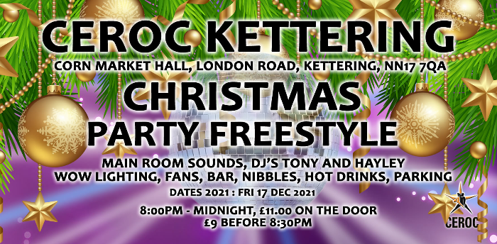 Kettering Christmas Party Freestyle