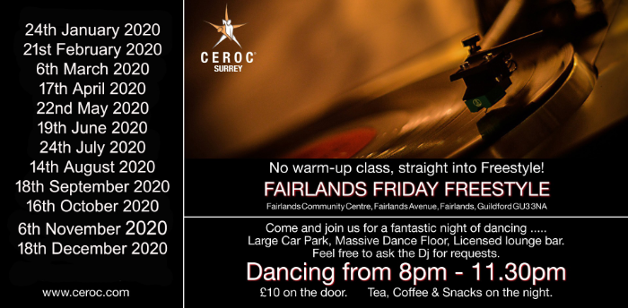 Fairlands Friday Freestyle - Christmas Party
