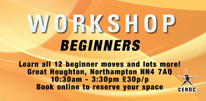 Cancelled - Beginners Workshop - Northampton