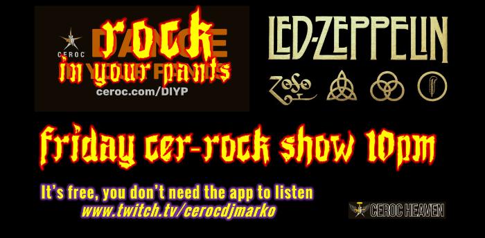 Ceroc Heaven's Friday Cer-Rock Show