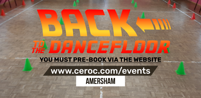 Ceroc Amersham SUNDAY 01 NOV 2020 - Back to the Dancefloor Workshop