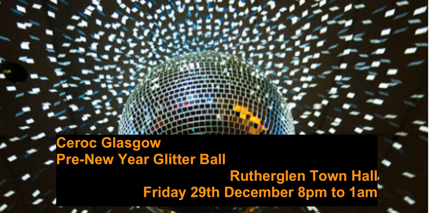 Ceroc Glasgow Betwixt Christmas/New Year Glitter Ball