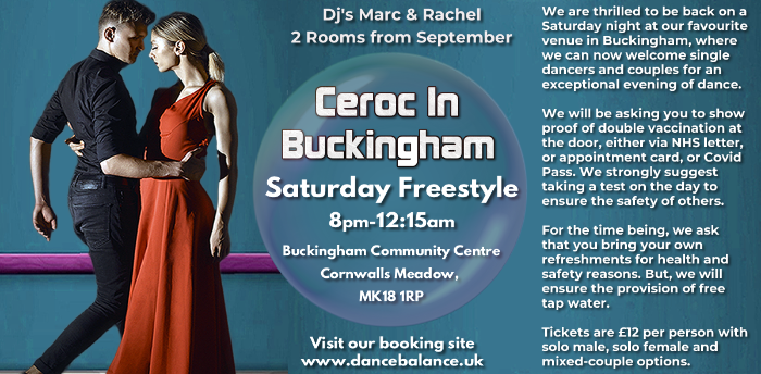 *Sold out* - Buckingham Saturday Night Freestyle