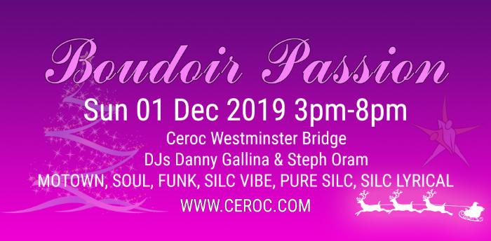 Boudoir Passion @The Bridge December 2019