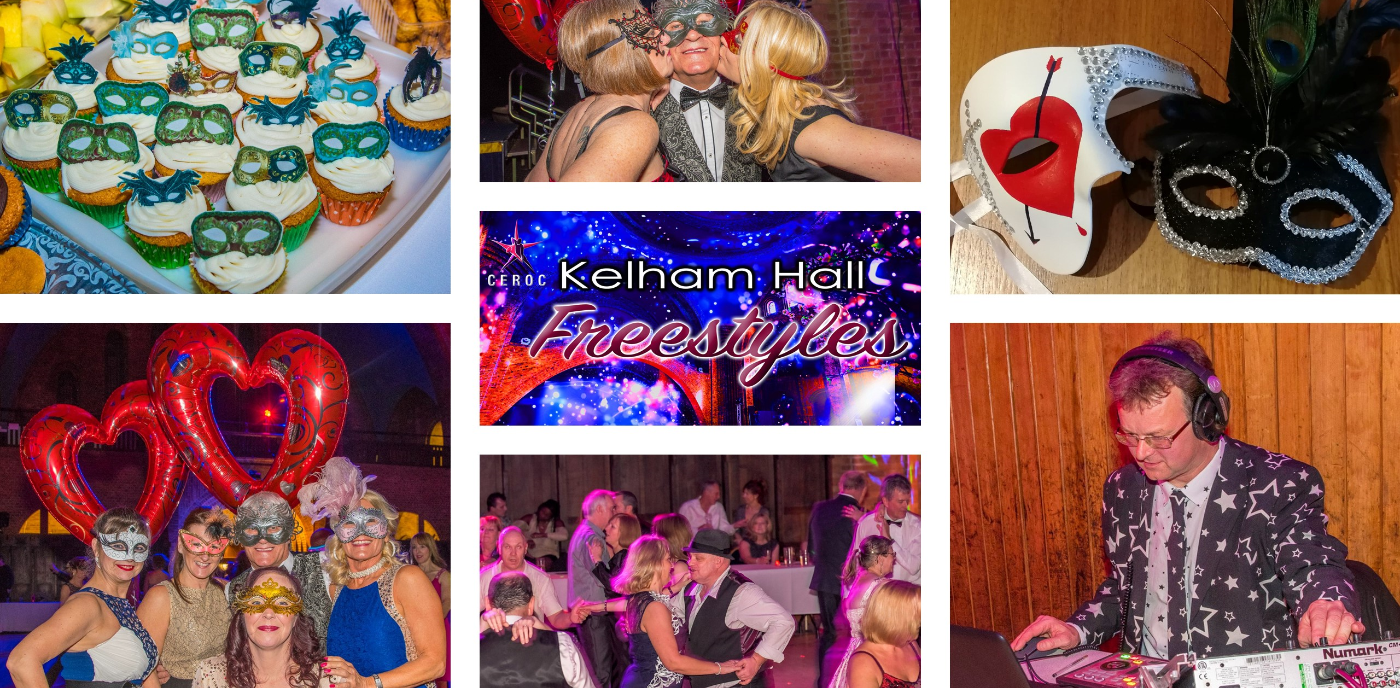 Kelham Hall Masquerade Freestyle