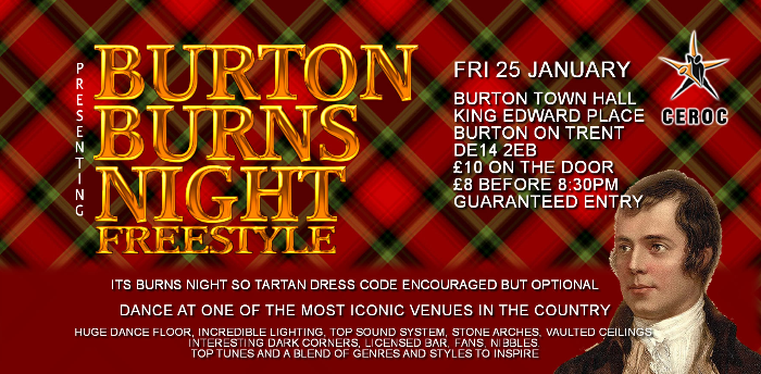 Burton Burns Night Freestyle