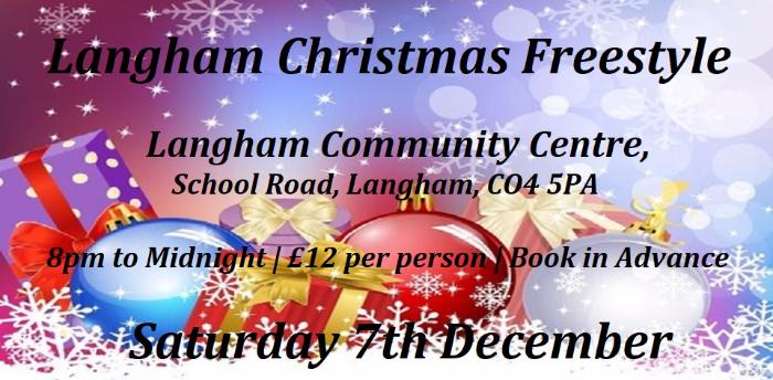 Xmas Langham 2 Room Freestyle