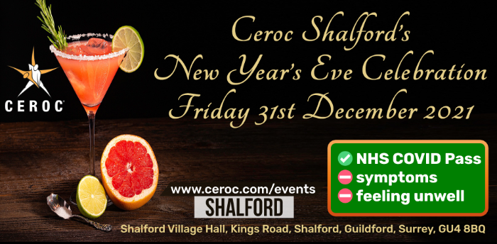 Ceroc Shalford's New Year's Eve Celebration - Friday 31 December 2021