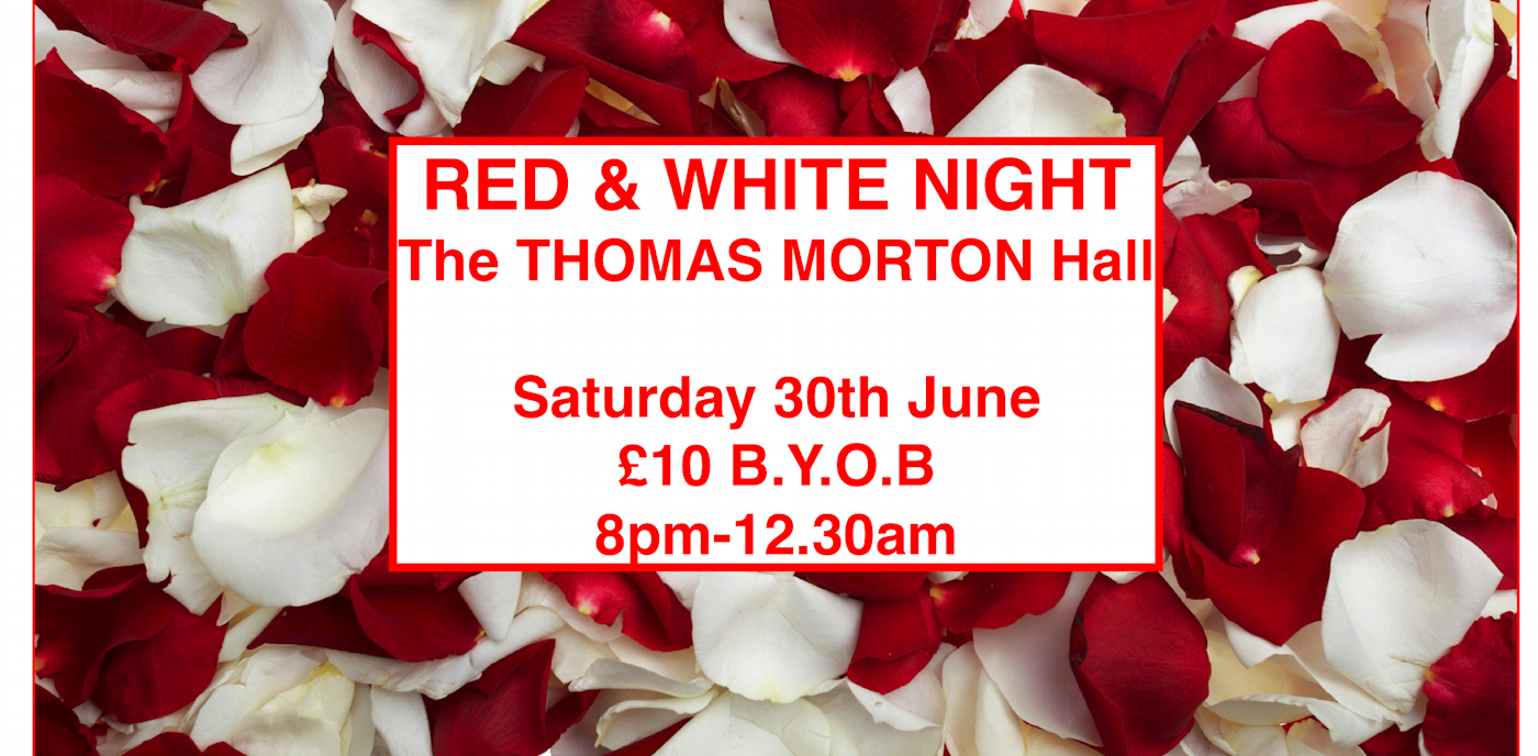 Red and White Night at the Thomas Morton