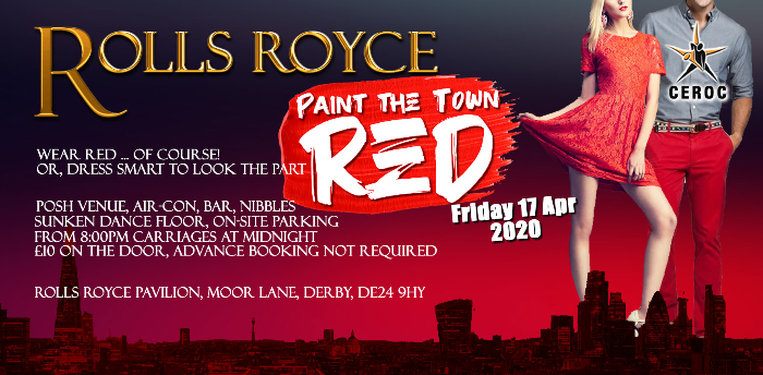 Rolls Royce Derby Paint the Town Red Freestyle