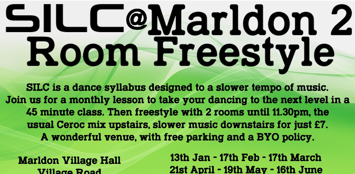 Marldon SILC Class and 2 Room Freestyle