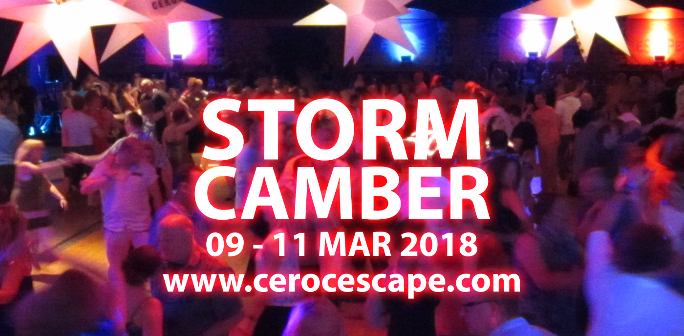 CEROC ESCAPE 'STORM' 2018 @ Camber Sands