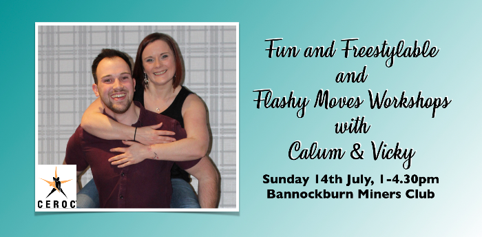 Sunday Workshops with Calum and Vicky