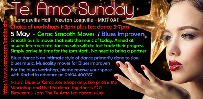 Smooth Ceroc Moves Workshop