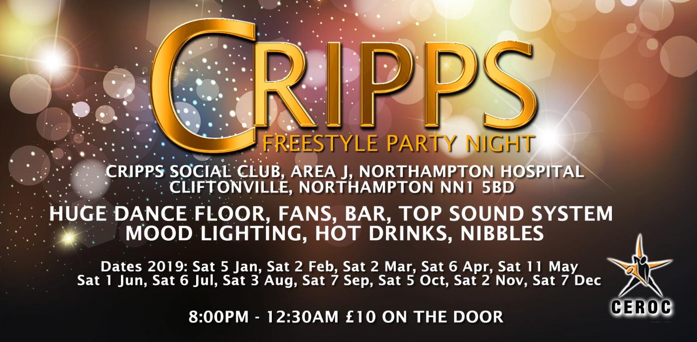 Crippsmas Freestyle Party Night