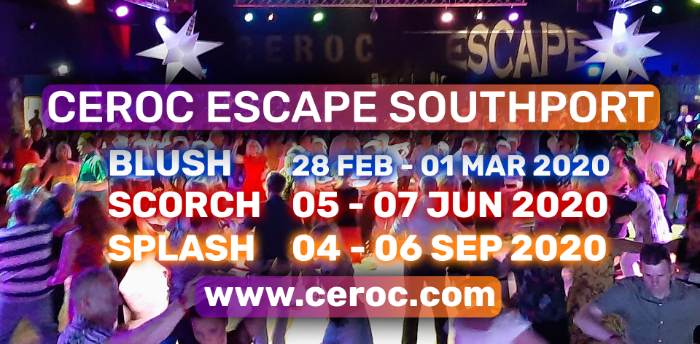 CEROC ESCAPE 'SPLASH' 2020 @ Southport