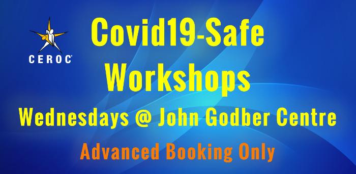 Ceroc John Godber Centre Covid-Safe Lessons