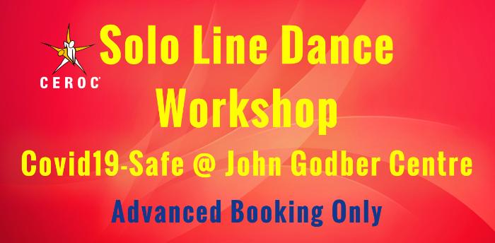 Solo Line Dances at Ceroc John Godber Centre