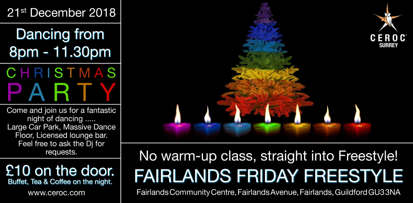 Fairlands Friday Christmas Freestyle