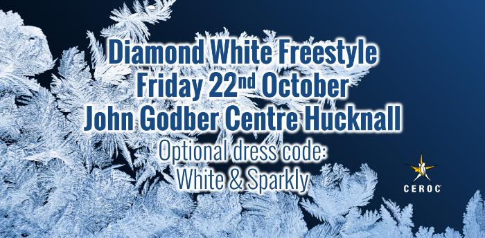 Ceroc Heaven Diamond White Freestyle Hucknall