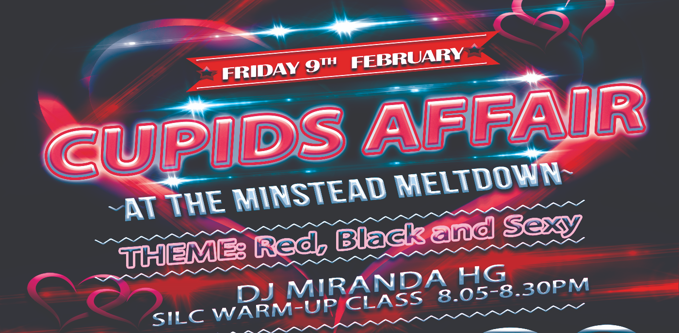 CUPIDS AFFAIR @ Minstead Meltdown