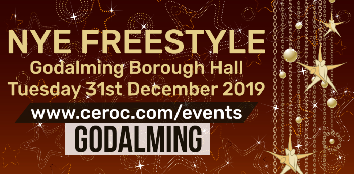 Ceroc Godalming NEW YEARS EVE Freestyle 2019