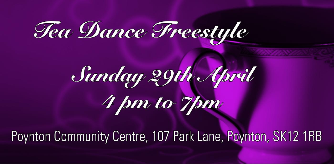 Poynton Tea Dance Freestyle