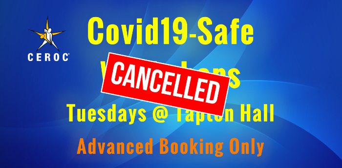CANCELLED Ceroc Tapton Hall Covid-Safe Lessons