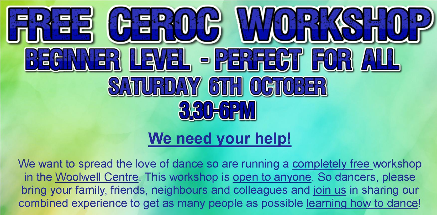 FREE Ceroc Workshop