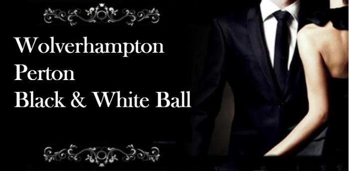 Wolverhampton Perton Civic Hall Black and White Ball