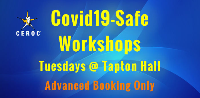 CANCELLED - Ceroc Tapton Hall Covid-Safe Lessons