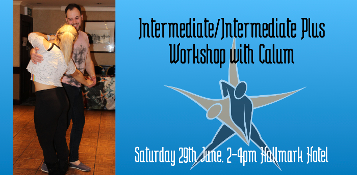 Ceroc Aberdeen: Intermediate/Int Plus Workshop with Calum
