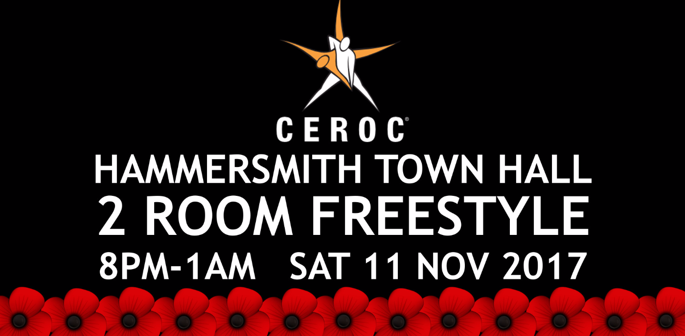Hammersmith 2 Room 'Remembrance Weekend' Freestyle