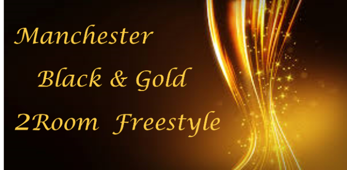 Manchester 2 Room Black & Gold Ball