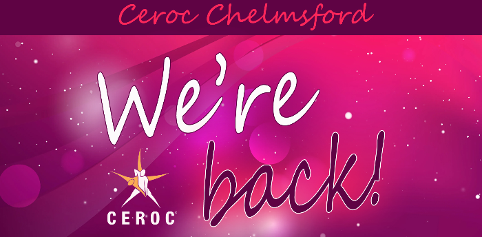 WE'RE BACK - Ceroc Chelmsford Class Night