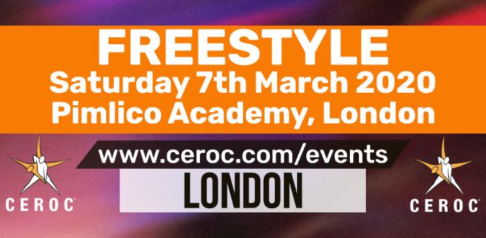 Ceroc Pimlico Party Freestyle Saturday 07 March 2020