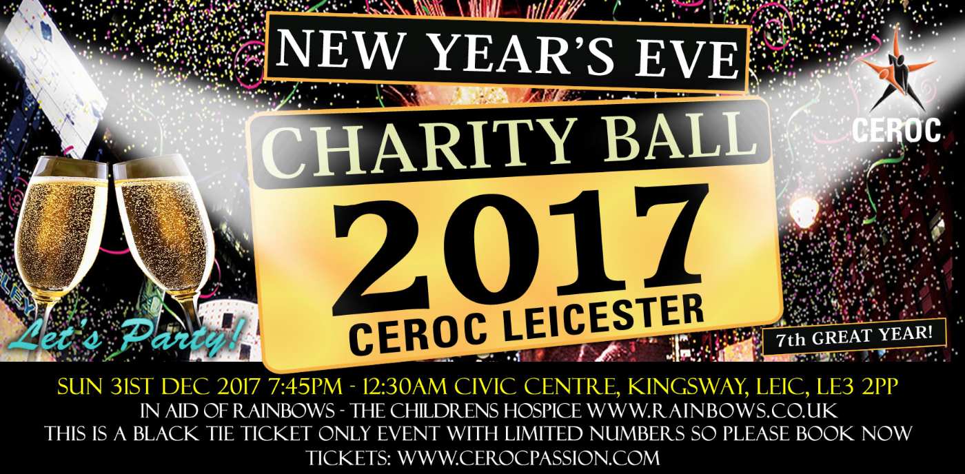 Ceroc Leicester New Years Eve Charity Ball