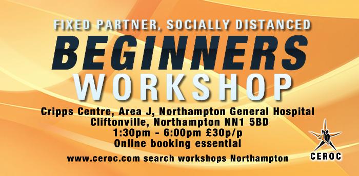 Beginners Workshop Northampton - Fixed Partner Socially Distanced