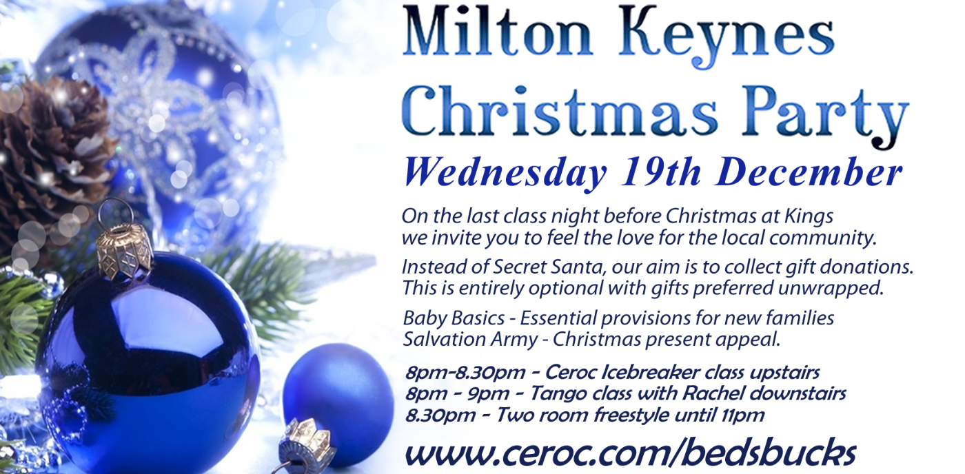 Milton Keynes Christmas Party