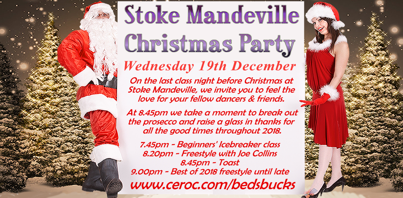 Stoke Mandeville Christmas Party
