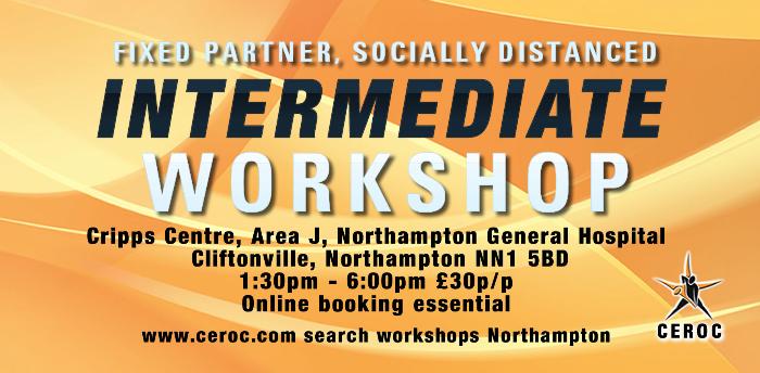 Intermediate Workshop Northampton - Fixed Partner Socially Distanced